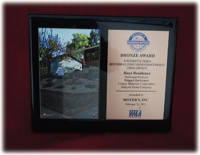 Awards Moyer S Landscape Services Madison Verona Wi